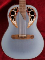 Adamas 1688GT-8 12 String Deep Bowl Reverse Blue Burst (1688Gt-8)