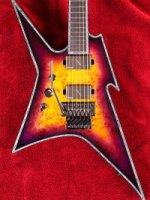 Ironbird Extreme Exotic with Floyd Rose Left Handed Purple Haze (EXIRONFRPHLH)